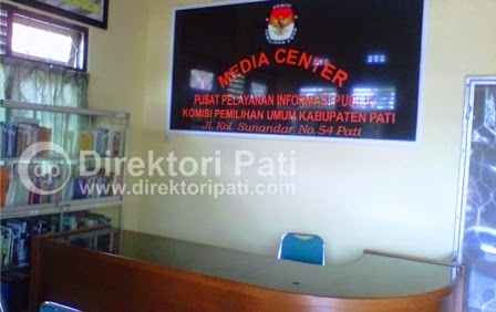 Website Komisi Pemilihan Umum (KPU) Kabupaten Pati
