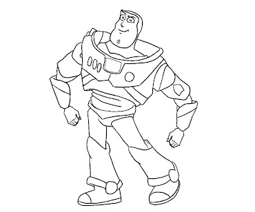 #4 Toy Story Coloring Page