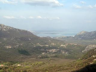 Blick ins Land in Montenegro