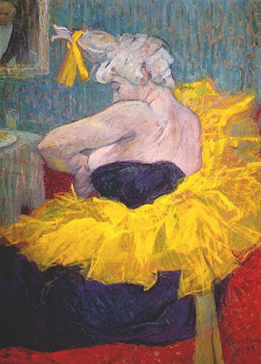 Toulouse-Lautrec, Clownesse Cha-U-Kao 1895
