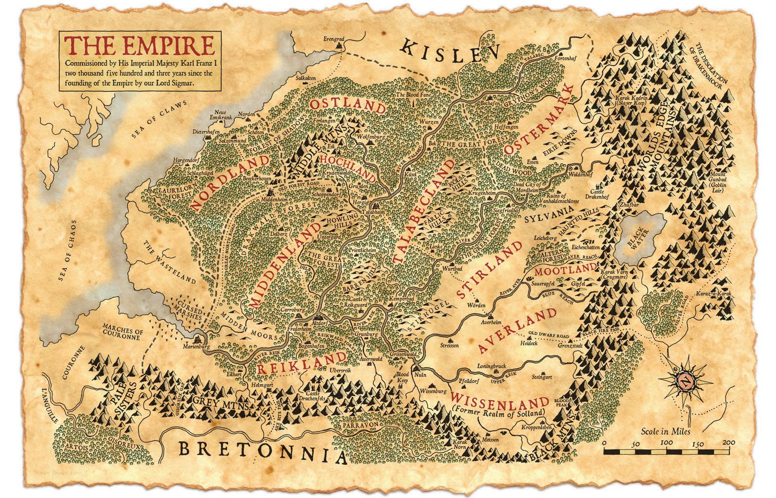 [Crónica] Warhammer 2ª Edición: Viaje a Talabheim