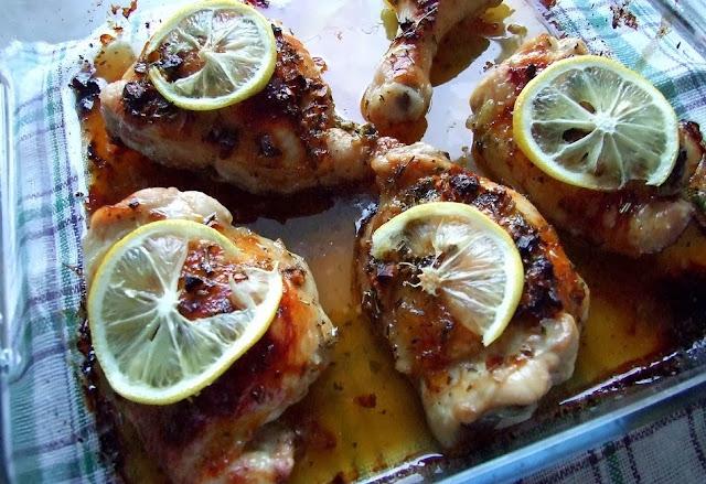 Kurczak w miodzie i cytrynie