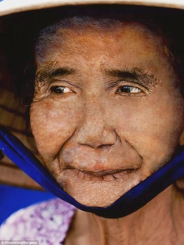 foto wanita berusia 100 tahun kembali ke wajah 20 tahun