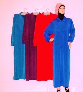 Gamis Jersey Ukuran Jumbo Gkm4669 Grosir Baju Muslim