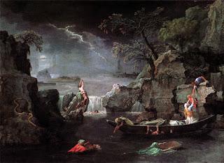 Poussin, déluge, Louvre