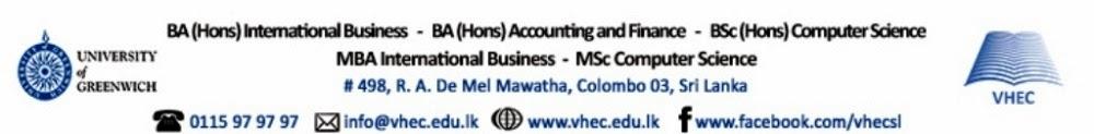 Bsc BA MBA & Msc