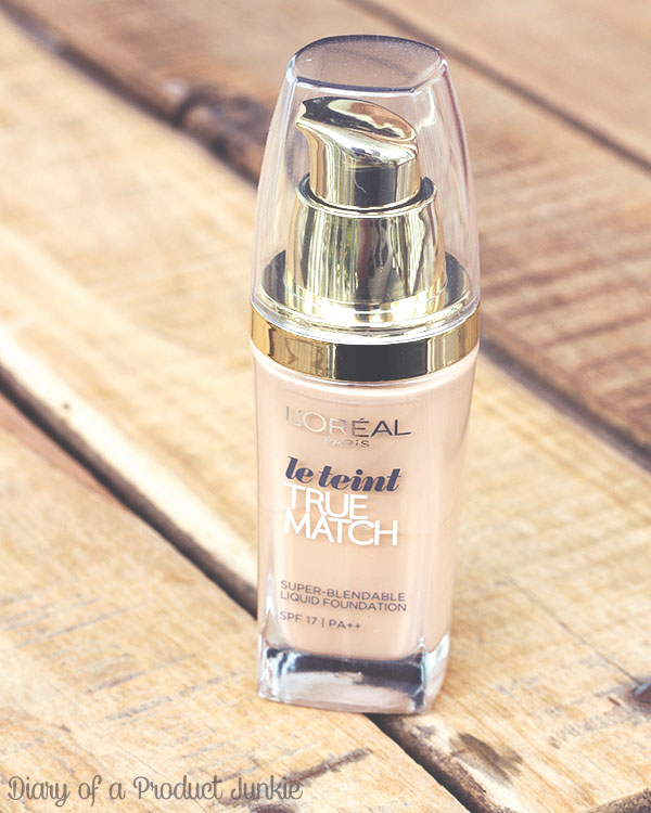 Loreal Paris True Match Liquid Foundation Review