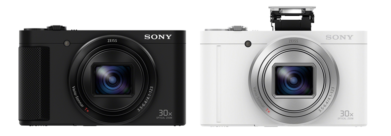 Sony Cyber-shot DSC-HX90 and DSC-WX500