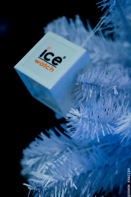 ICE WATCH – Le sablier du temps prend des couleurs