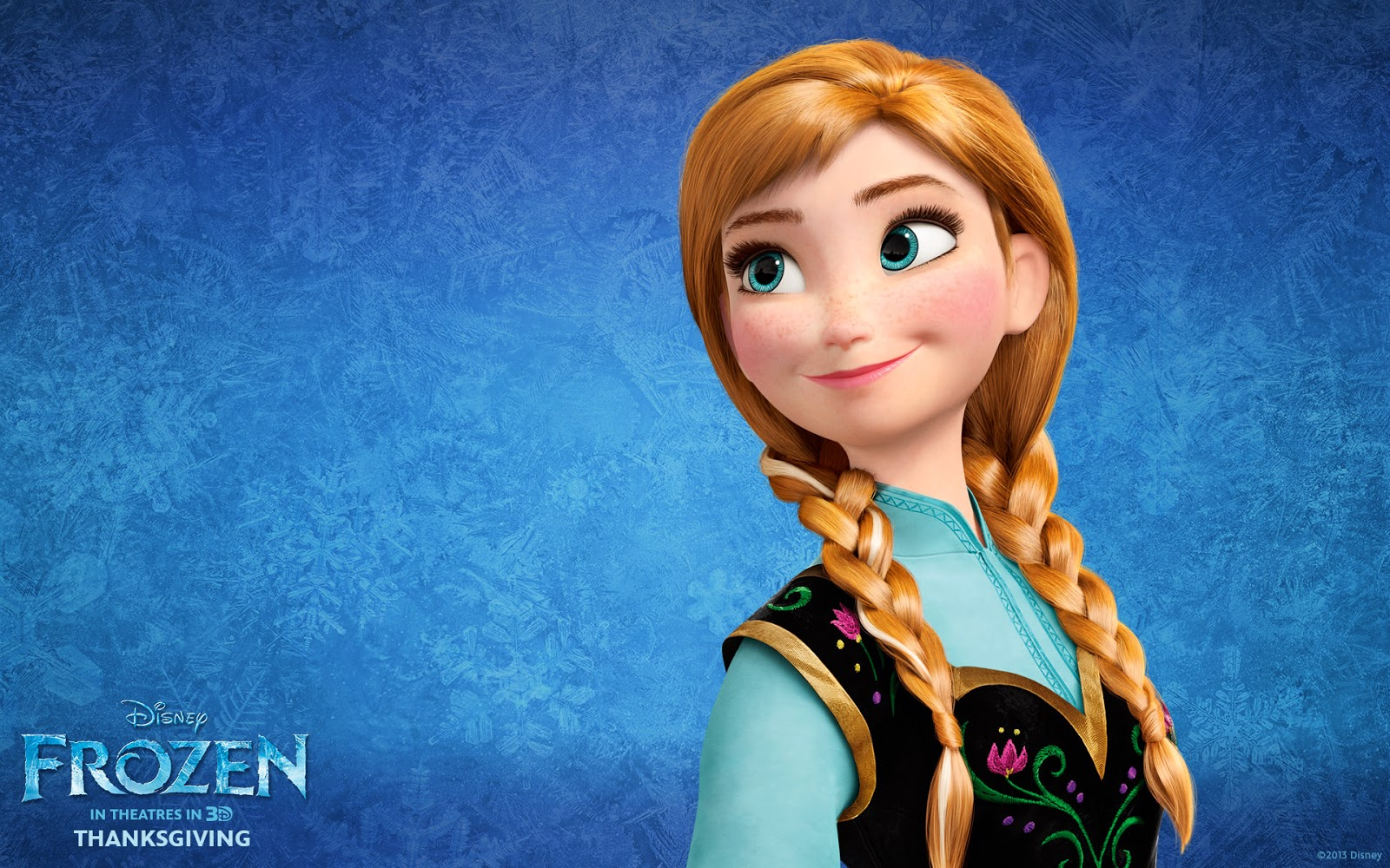 赤髪とそばかすが印象的なアナ