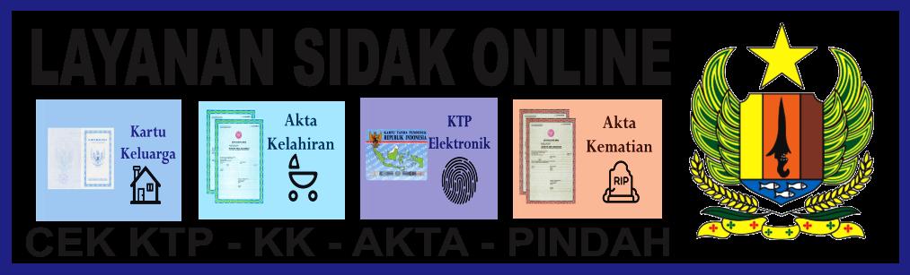 DAFTAR KTP / KK / AKTA ONLINE