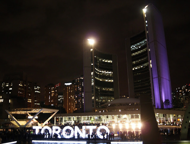 Scotiabank Nuit Blanche Toronto 2015, Culture, Art, Artmatters, Contemporary, Installations, All-Night, The Purple Scarf, MelaniePs, Ontario, Canada, Nathan Phillips Square