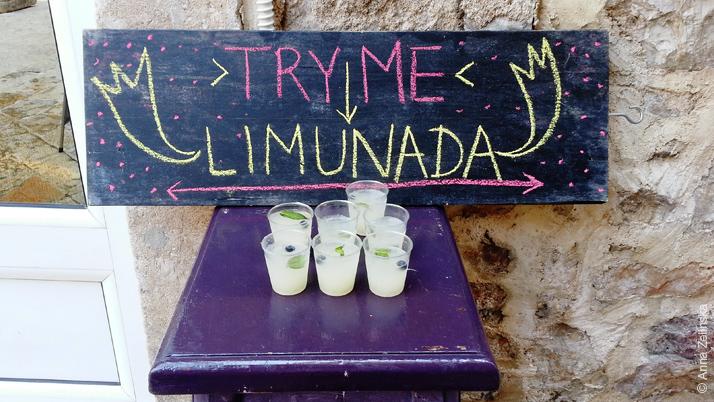 Лимонад в Старом городе, Будва, Черногория