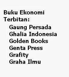 Buku Ekonomi Penerbit: Gaung, Ghalia, Genta, Golden, Grafity, Graha Ilmu Murah