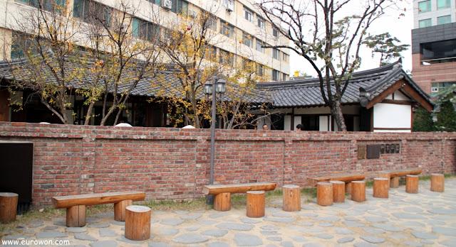 Casa tradicionales coreanas en el centro de Daegu