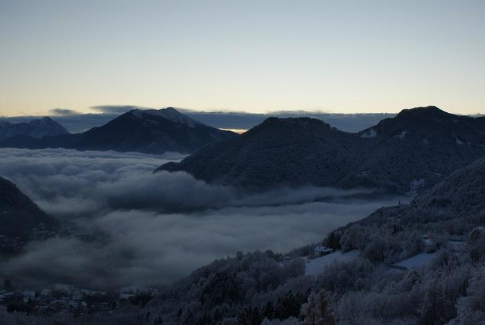 casasco clouds nuvole dawn alba
