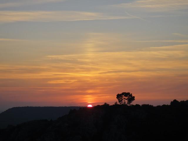 Barrage de Bimont coucher de soleil