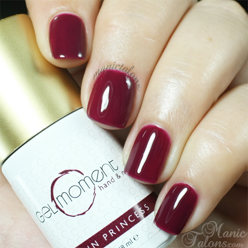 GelMoment Satin Princess Swatch