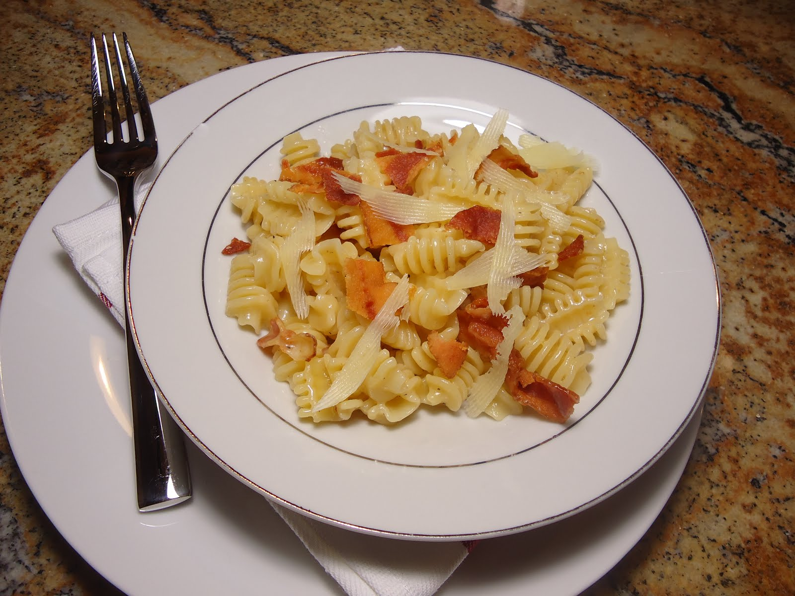 A Hungry Teacher....................: White Wine Pasta