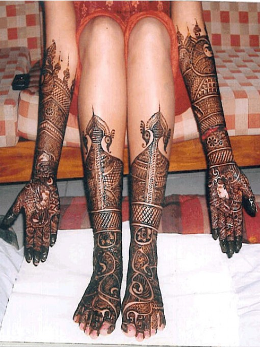 Mehndi Foot Designs Latest : Latest and stylish mehndi designs for foot