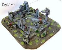 Ruiny świątyni warhammer