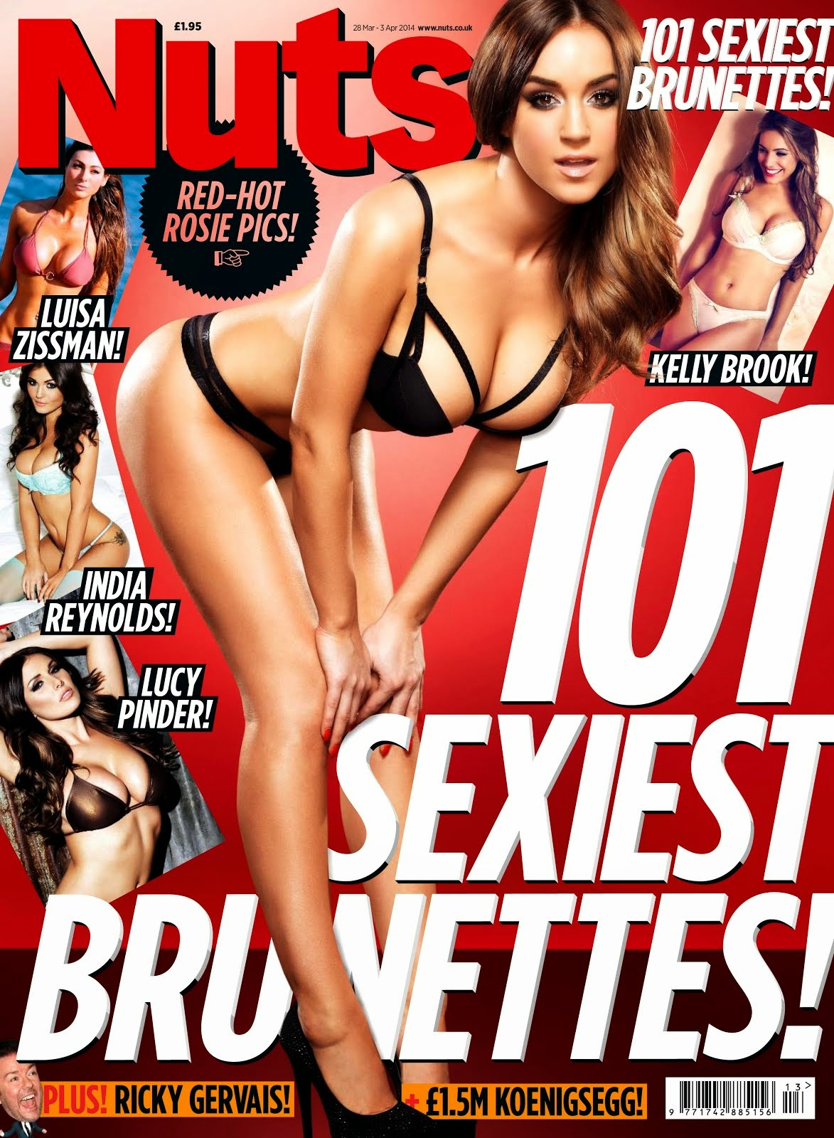 Rosie Jones en Nuts RED-HOT