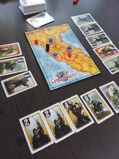 partida Condottiere juegos mesa