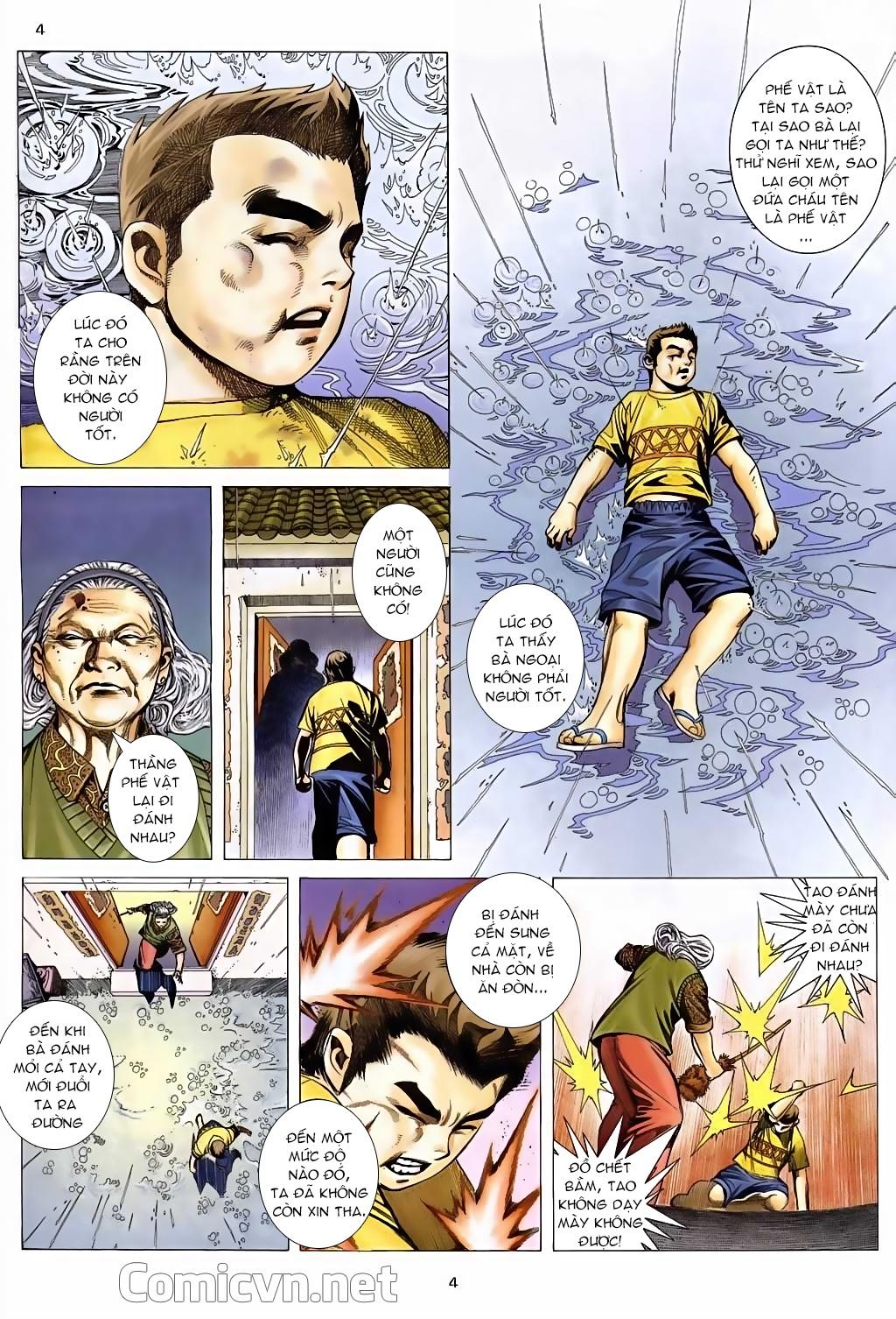 Xích Trụ Phạn Đường chap 5 - Trang 4