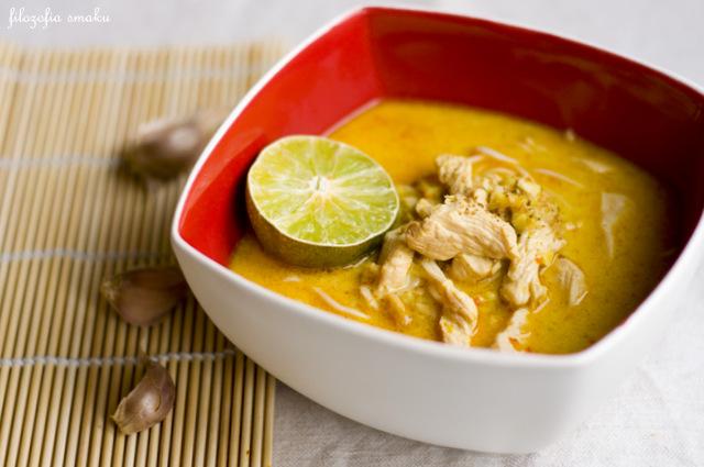 Tajska zupa z kurczakiem przepis