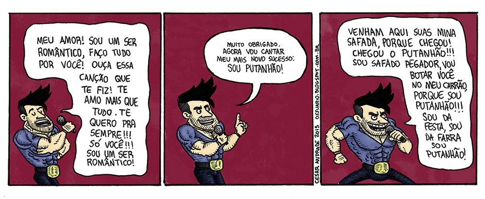 Tira sobre sertanejo - Cesar Andrade