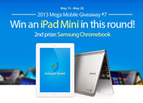 iPad Mini or Samsung Chromebook Giveaway