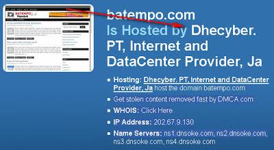 Cara mengetahui IP domain dan hosting sebuah website