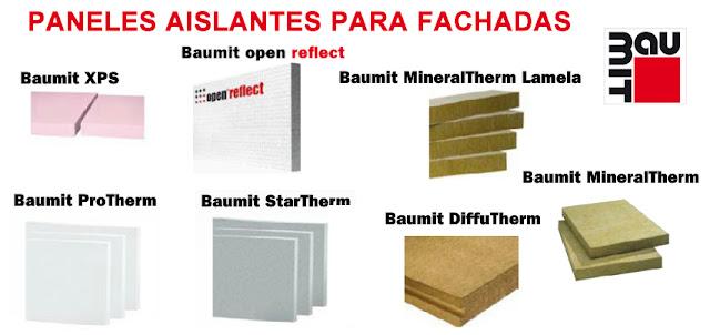 Aislamiento termico y revestimiento de fachadas paneles - Tipos de aislamiento termico ...