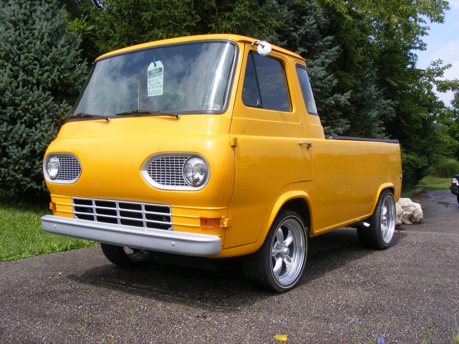 Thoughts At Large Car Spotter 1964 Ford Econoline Pickup