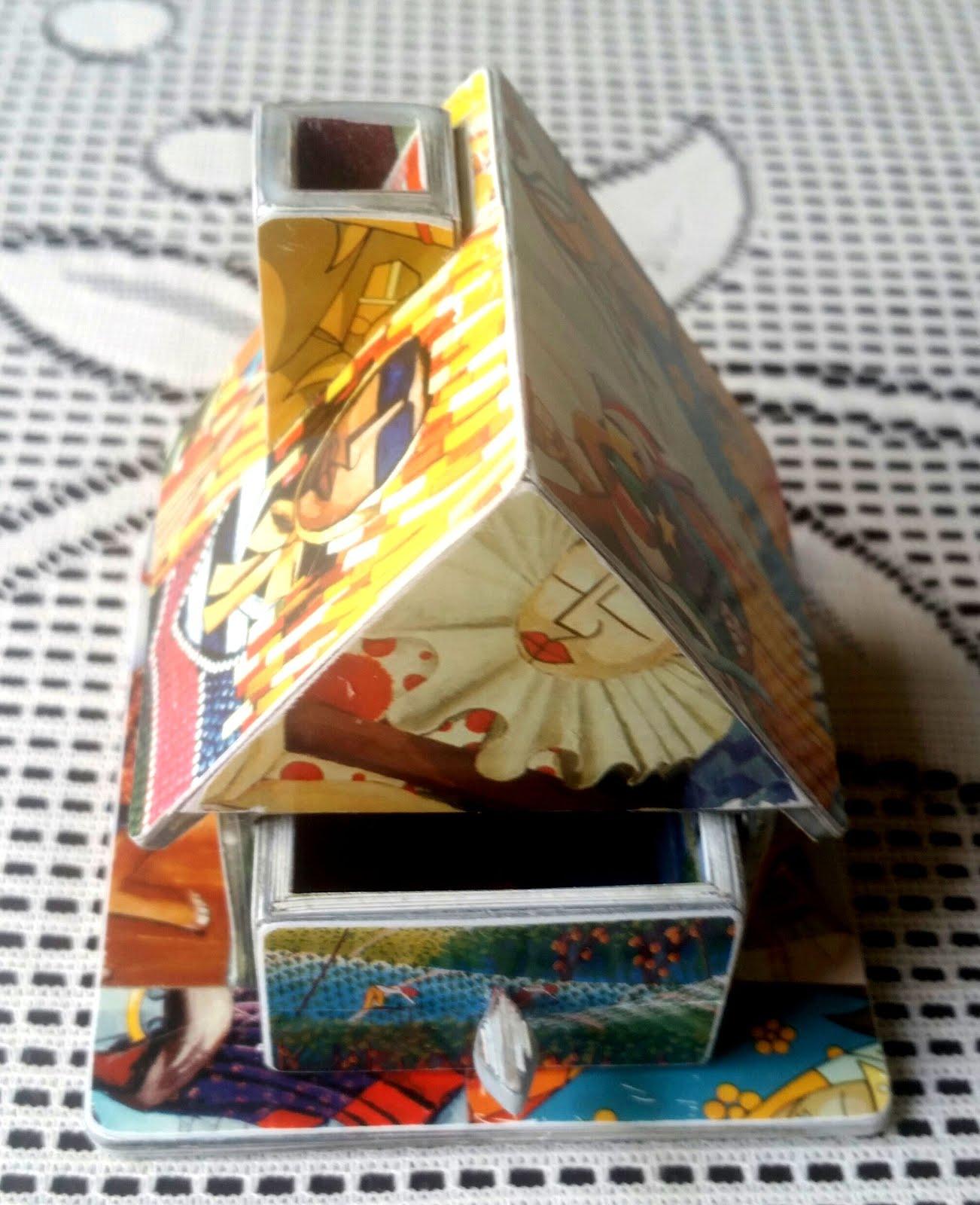Arte feita com Cartão Telefônico pelo cantor Charles Meira