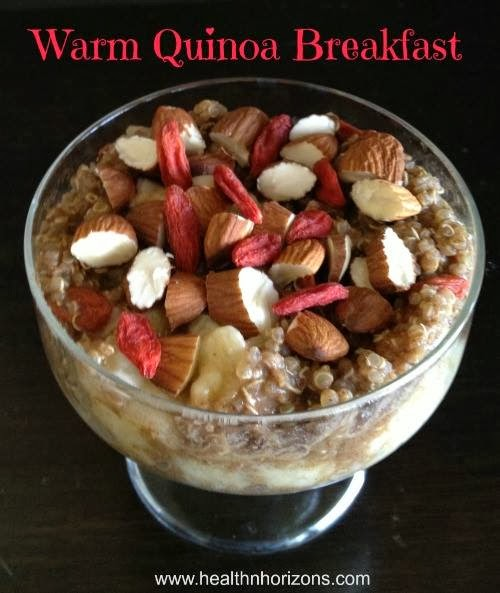 Pearl's Powder: A Superfood Breakfast: Goji Berries with Warm Quinoa