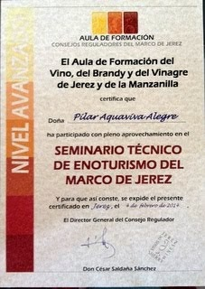 SEMINARIO TÉCNICO DE ENOTURISMO DEL MARCO DE JEREZ