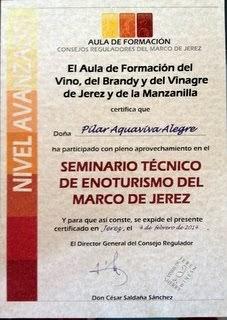SEMINARIO TÉCNICO DE ENOTURISMO DEL MARCO DE JEREZ