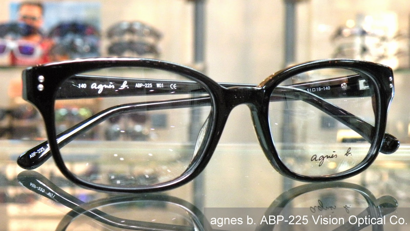 Agnes b 大鏡框眼鏡架