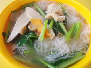 Fish Bee Hoon Soup, S$ 3.00