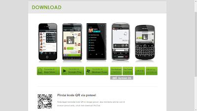 Aplikasi WeChat Terbaru Untuk BB, Android, Iphone dan Windows Phone