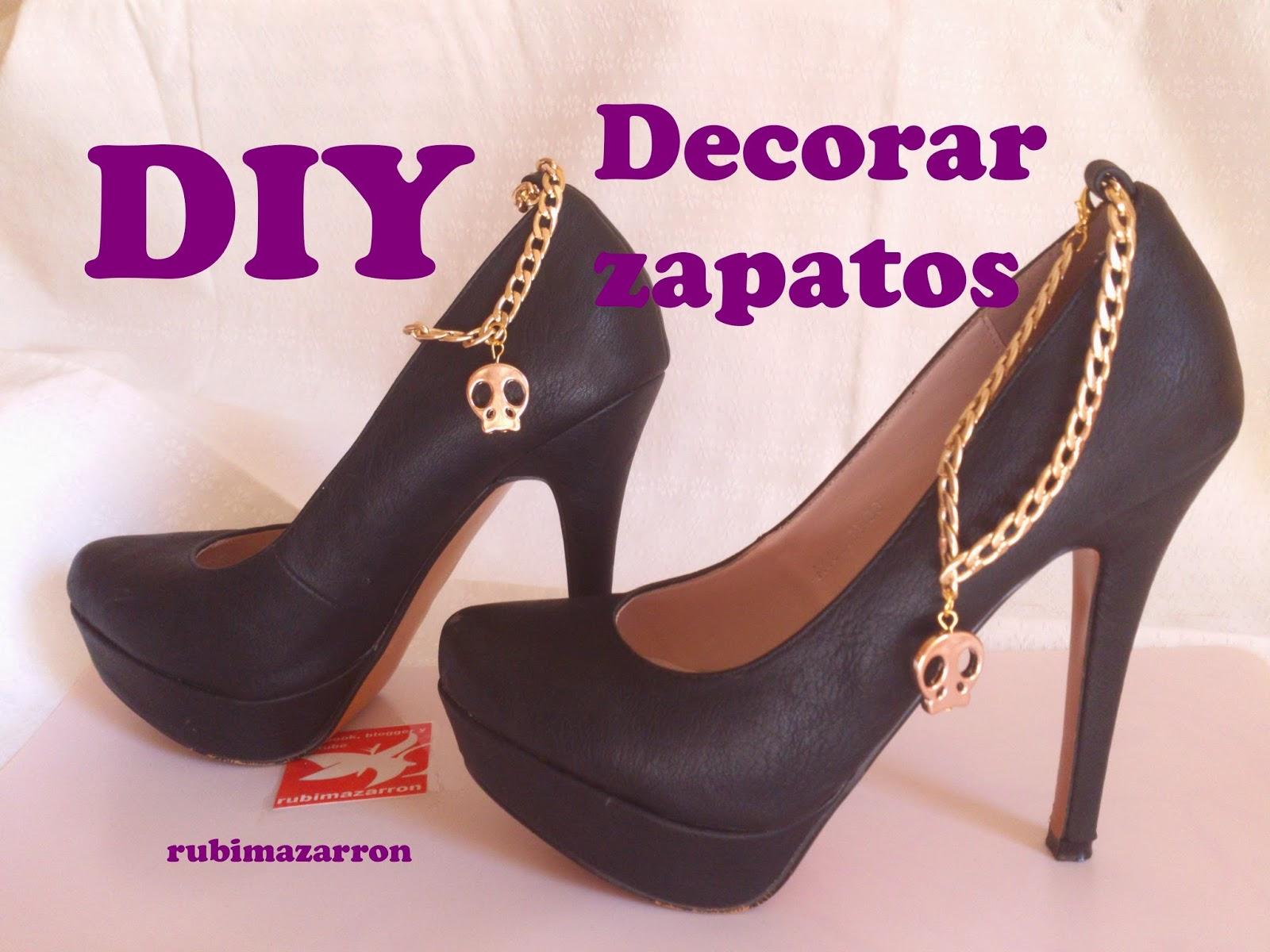 Decorar Zapateria ~ rubi fotos de mis manualidades  Diy Decorar zapatos de tac?n