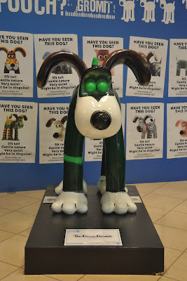 The Green Gromit (front view)