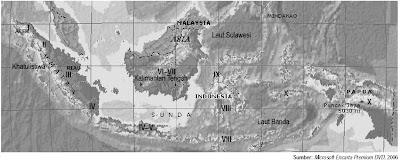 Peta Regionalisasi Pembangunan di Indonesia