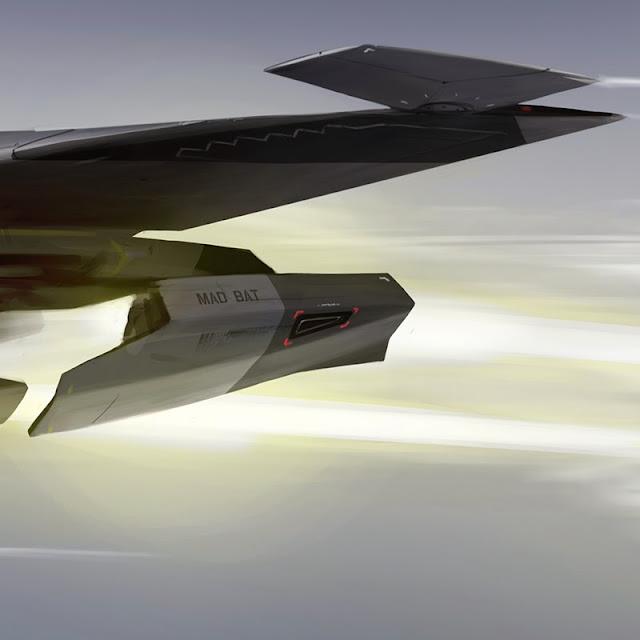 Mad Bat tail wing