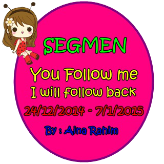 SEGMEN YOU FOLLOW ME, I WILL FOLLOW YOU BACK !!!