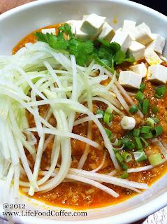 Zha Jiang Mian at Asian Kitchen