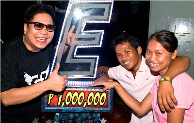Jocelyn Talaboc and Marlon Vargas Won P1 million on It's Showtime (Showtime Bigtime)