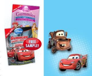 Amostra Gratis Bala Vitaminada da Disney