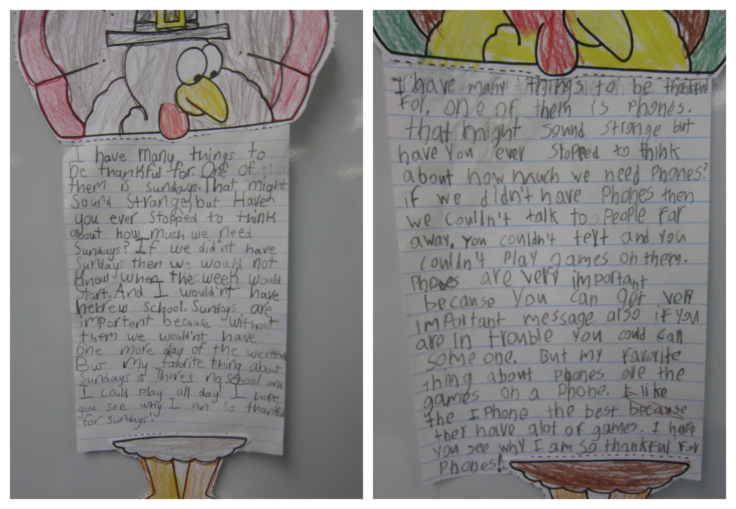 Thankful things writing activity sunny days in second grade spiritdancerdesigns Images
